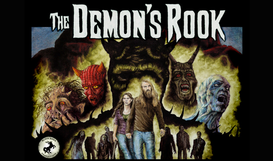 Interview with James Sizemore – Writer, Director, FX Artist and Star of The Demon's Rook